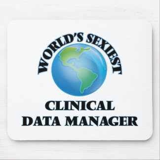 World's Sexiest Clinical Data Manager Mouse Pad