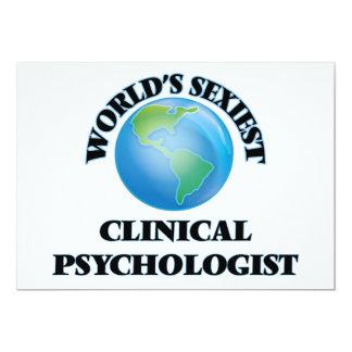 World's Sexiest Clinical Psychologist Custom Announcements