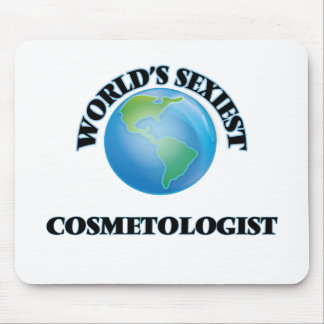 World's Sexiest Cosmetologist Mouse Pads