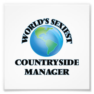 World's Sexiest Countryside Manager Photo Print