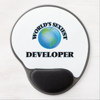 World's Sexiest Developer Gel Mouse Pads