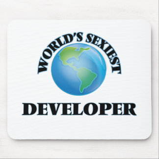 World's Sexiest Developer Mouse Pad