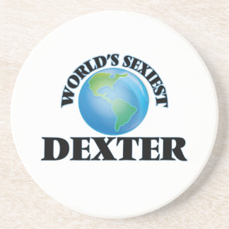 World's Sexiest Dexter Drink Coasters