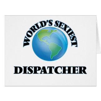 World's Sexiest Dispatcher Card