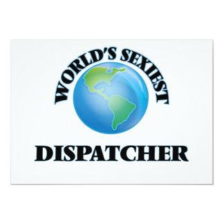 World's Sexiest Dispatcher Personalized Invitation