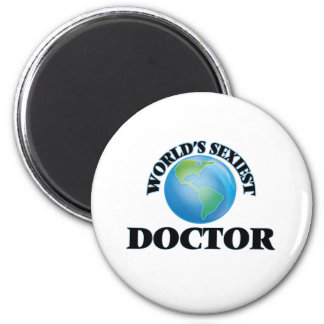 World's Sexiest Doctor Refrigerator Magnets