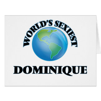 World's Sexiest Dominique Cards