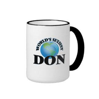 World's Sexiest Don Mugs