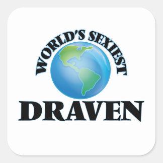 World's Sexiest Draven Square Sticker