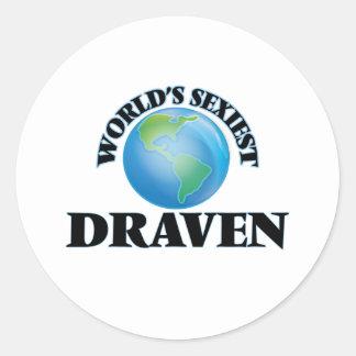World's Sexiest Draven Round Sticker