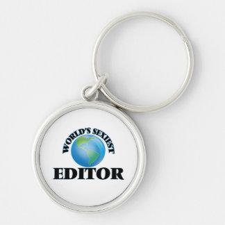 World's Sexiest Editor Key Chain
