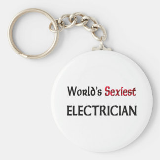 World's Sexiest Electrician Key Ring