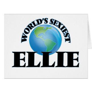 World's Sexiest Ellie Big Greeting Card