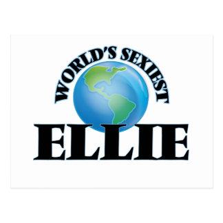 World's Sexiest Ellie Postcards