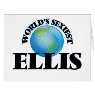 World's Sexiest Ellis Big Greeting Card