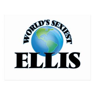 World's Sexiest Ellis Postcard