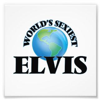 World's Sexiest Elvis Photographic Print