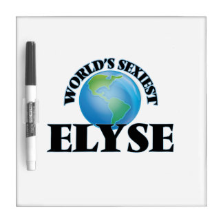 World's Sexiest Elyse Dry Erase Whiteboard