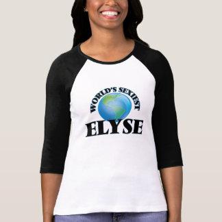 World's Sexiest Elyse Tee Shirts