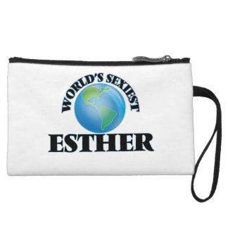 World's Sexiest Esther Wristlet Clutches