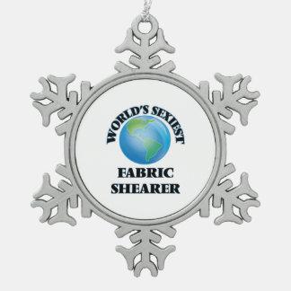 World's Sexiest Fabric Shearer Ornament