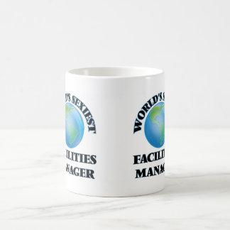 World's Sexiest Facilities Manager Basic White Mug