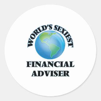 World's Sexiest Financial Adviser Sticker