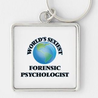 World's Sexiest Forensic Psychologist Keychain