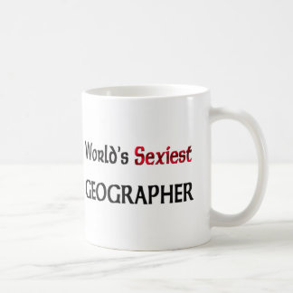 World's Sexiest Geographer Coffee Mug