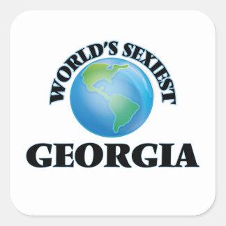 World's Sexiest Georgia Sticker