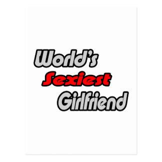 World's Sexiest Girlfriend Post Cards