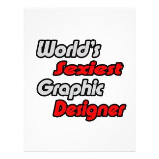 World's Sexiest Graphic Designer Custom Flyer