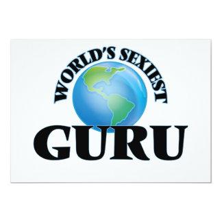 World's Sexiest Guru Custom Announcement