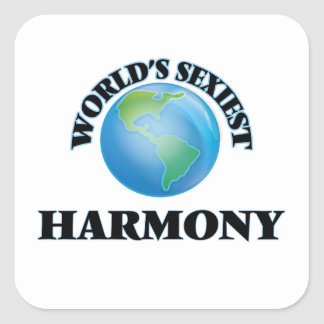 World's Sexiest Harmony Stickers
