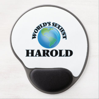 World's Sexiest Harold Gel Mouse Pad