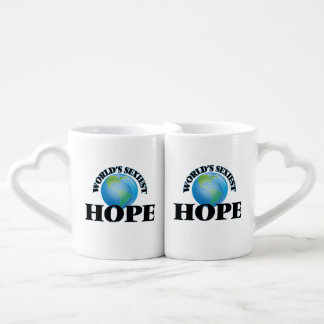 World's Sexiest Hope Lovers Mug Set