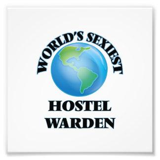 World's Sexiest Hostel Warden Photographic Print