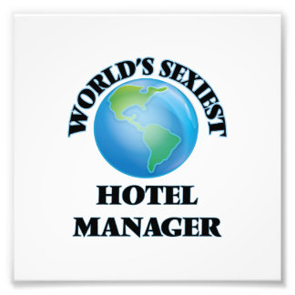 World's Sexiest Hotel Manager Art Photo