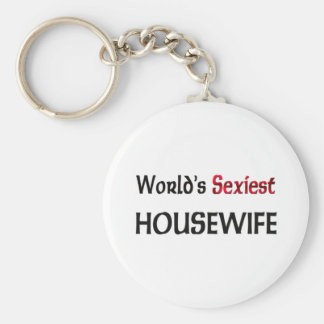 World's Sexiest Housewife Keychains