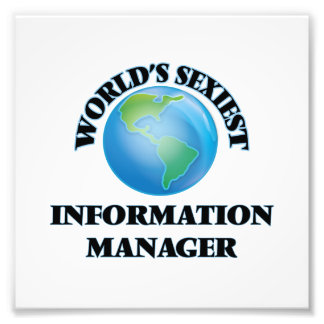 World's Sexiest Information Manager Photo
