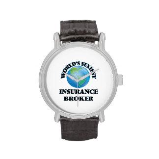 World's Sexiest Insurance Broker Wristwatches