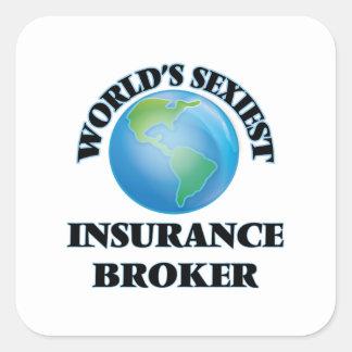 World's Sexiest Insurance Broker Stickers