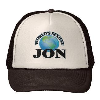 World's Sexiest Jon Trucker Hats