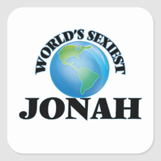 World's Sexiest Jonah Square Stickers