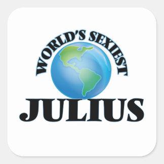 World's Sexiest Julius Square Sticker