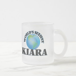 World's Sexiest Kiara Frosted Glass Mug