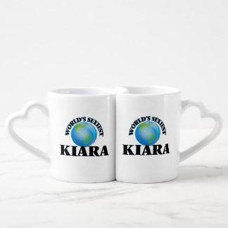 World's Sexiest Kiara Lovers Mug Set