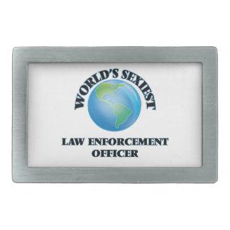 World's Sexiest Law Enforcement Officer Belt Buckles