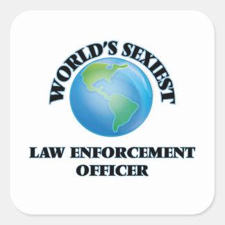 World's Sexiest Law Enforcement Officer Sticker