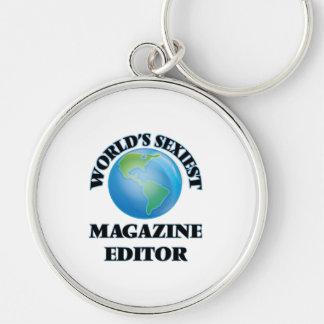 World's Sexiest Magazine Editor Keychain